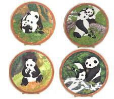 Giant Panda Hugs Collector Plate Bradford Exchange Will Nelson