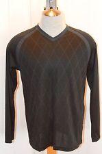 Men's Adidas Tennis V-Neck Long Sleeve Shirt G78221