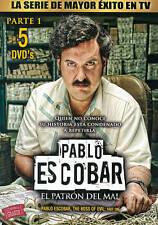Pablo Escobar: El Patron del Mal, Parte 1 (DVD, 2013, 5-Disc Set)
