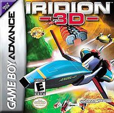 Iridion 3D (Nintendo Game Boy Advance, 2001) CART ONLY
