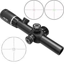Hunting Sights 2-7X24 Riflescopes Red/Green Illuminated Scope w/ Mounts