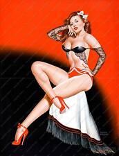 Titter,   Vintage Mens magazine 1948 poster reproduction