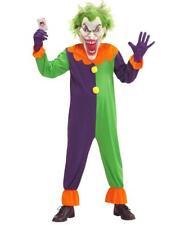 Costume Clown Evil Joker Costume Halloween Horror Ps 25853