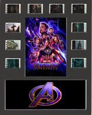 Avengers Endgame replica Film Cell Presentation 10x8 Mounted 10 cells