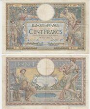 Gertbrolen Rare 100 FRANCS( LUC OLIVIER MERSON )  du 15-4-1908   U.180 avec LOM