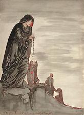 "Pamela Colman Smith : ""Overture, Manfred—Schuman"" (1907) — Giclee Fine Art Print"