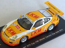 Spark SA013 - PORSCHE 997 GT3 Cup n° 88 Vainqueur Carrera Cup Asia 2011 1/43