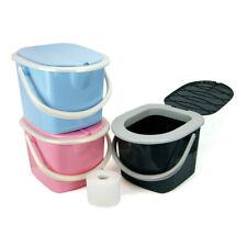 Toilette Kindertoilette transportable Campingtoilette in 3 vers. Farben 15,5 L