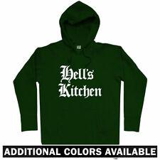 Hell's Kitchen Gothic NYC Hoodie - Hells New York City Manhattan 212 - Men S-3XL