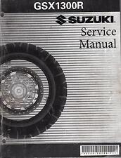 2000-2005 SUZUKI MOTORCYCLE GSX1300R SERVICE MANUAL LIGHTLY USED