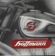 PROSPEKT HOFFMANN MOTORRÄDER 1951 HWL 125 MHF 125 175 250 OLDTIMER SAMMLER