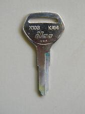 Kawasaki Motorcycle Key Blank KA14 or X103 By ILCO