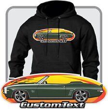 Custom Art Hoodie sweatshirt 69 1969 Chevrolet Camaro RS SS 396 Convertible COPO