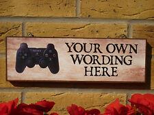 Signo personalizado de sala de juegos Call of Duty Grand Theft Auto Playstation X Box
