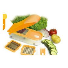 Gemüseschneider - Obstschneider - Früchteschneider - 26x10x6cm orange oder grün