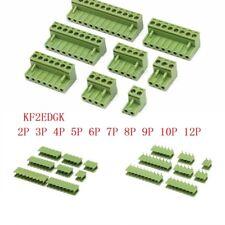 2/3/4/5/8/9/10/12 Pin KF2EDGK 5.08mm Pitch PCB Terminal Block Screw Connectors