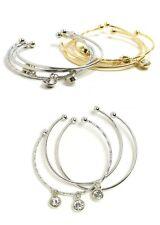 Women Fashion Vintage Jewelry Retro Multi Bracelet Bangle Rhinestone Charm Cute