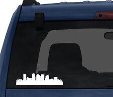 American City Skyline - Phoenix Arizona  Silhouette - Car Tablet Vinyl Decal