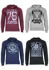 JACK & JONES Hommes Pull JJOR Sign Sweat Capuche Capuche LOISIR Design