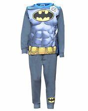Boys Batman Costume Novelty Pyjamas With Cape Batman Cotton Pyjama Age 2--8 Yrs