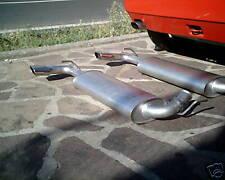 Marmitta scarico terminale Lancia Delta Integrale Evo Hf Evoluzione exhaust