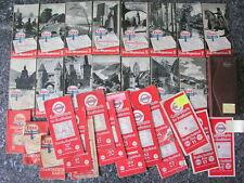 Esso Karte Essokarte Wegweiser Straßenkarte Standard Luftbildkarte 30er Jahre