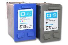 2St. original vhbw® Drucker Patronen für HP 27xl 28xl PSC 1318 1340 black + colo