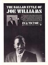 1965 Joe Williams photo The Song is You Album promo ad