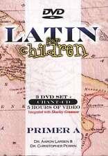 Latin For Children Primer Level A Set 3 DVDs + Chant CDs - Dr Christopher Perrin