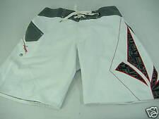 "New Mens 29 VOLCOM Surf Board Shorts ""Foster Too"" Mod Tech White Rashguard Liner"