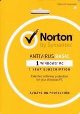 NEW Symantec Norton AntiVirus 2018 Basic NEXT DAY DELIVERY! Send Key FREE Post