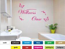 Wandtattoo Wellness Oase 01 Bad Fliesen Aufkleber Wandaufkleber Wandbild Sticker