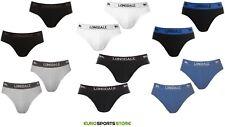 2x Lonsdale Mens Underwear Briefs Size S M L XL XXL