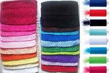 "NEW 10"" long CROCHET Headband STRETCH TUTU DRESS Tube top size 4 - 8 years"