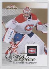 2013-14 Fleer Showcase #50 Carey Price Montreal Canadiens Hockey Card