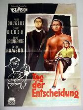 TAG DER ENTSCHEIDUNG * PAUL DOUGLAS / PELTZER - A1-Filmposter- Ger 1-Sheet 1957