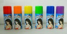 Lacca colorata per capelli Carnevale Halloween Vari colori Spray 100 ml C150