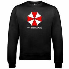 Men's Umbrella Corporation Sweatshirt Video Game Retro Evil Classic Resident TV