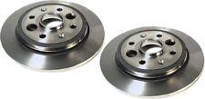 Rear Disc Brake Rotors for Acura Integra 86-89 D16