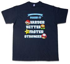 JUMP IT STOMP IT GRAB IT T-SHIRT – Super N64 Mario Better Harder Kart