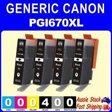 4x 6x Generic PGI670XL CLI671XL CLI671 inks for Canon Pixma MG5760 MG5765 MG6860