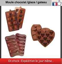Moules gateau chocolat glace sucre muffins 3 modèles
