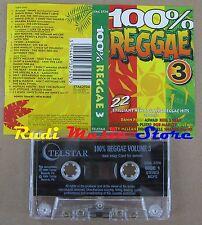 MC 100% REGGAE 3 COMPILATION 1994 BOB MARLEY THE POLICE 10CC C J LEWIS no cd lp