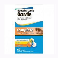Ocuvite Complete Eye Supplement/Vitamins(DHA, Lutein, & Zinc)