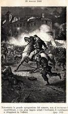 20/5/1849:BATTAGLIA DI VELLETRI: Garibaldi Contro i Borbonici. Risorgimento.1885