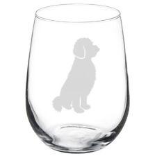 Goldendoodle Dog Stemmed / Stemless Wine Glass