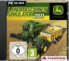 LANDMASCHINEN-SIMULATOR 2011 (John Deere) - PC CD-ROM - NEU & SOFORT