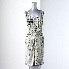Simply Vera Wang Abstract Crocodile Animal Print Shift Dress Misses XS Small