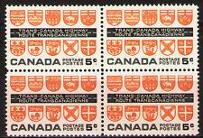 Canada 1962  Sc400 Mi347 1.60 MiEu  1 block  mnh  Trans-Canada Highway