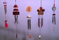 Wholesale Lot of 5 Oriental Asian Chinese Fen Shui Zen Good Luck Windchimes NEW